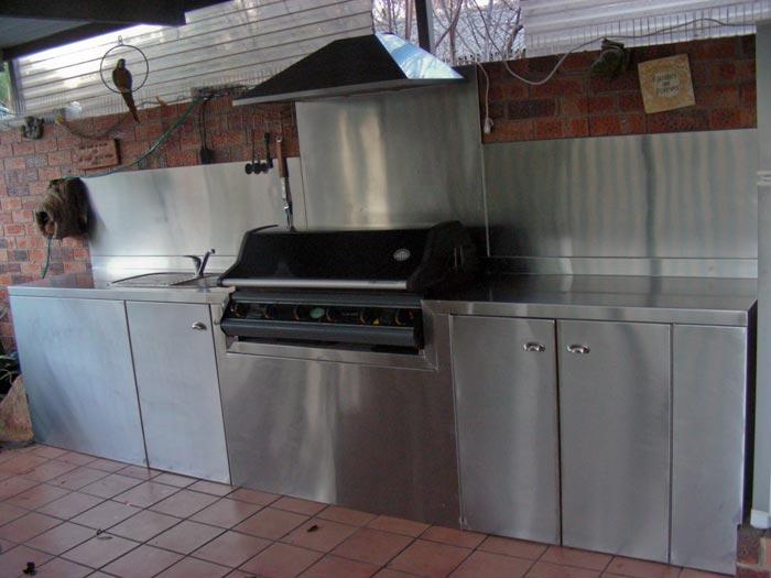 Out Door BBQ Area